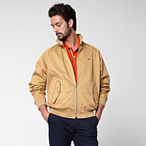 Lacoste Harrington gabardine jacket Men