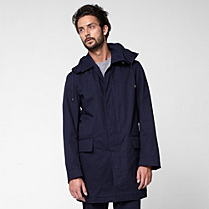 Lacoste Hooded showerproof coat Men