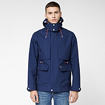Lacoste Live water-repellent hooded jacket Men