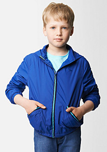 Lacoste Windbreaker with a folding hood Boy