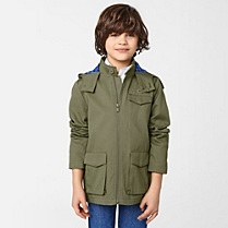 Lacoste Hooded parka Boy