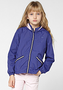 Lacoste Windbreaker with a folding hood gender.gir