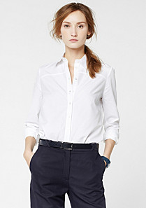 Lacoste Long sleeved plain shirt Women