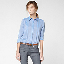 Lacoste Long-sleeved light shirt Women