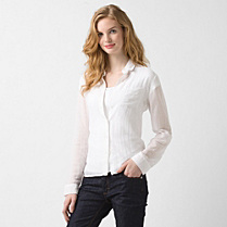 Lacoste Cotton and silk shirt Women
