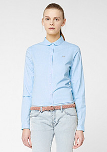 Lacoste Live shirt with Peter Pan collar Women