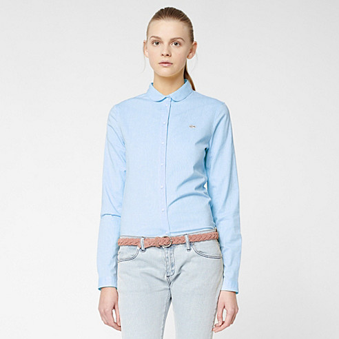 Lacoste Live shirt with Peter Pan collar