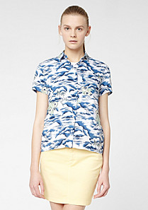 Lacoste Live printed shirt Women