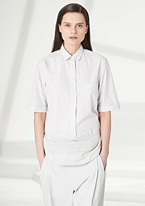 Lacoste Fashion Show shirt with elbow-length sleeves Women