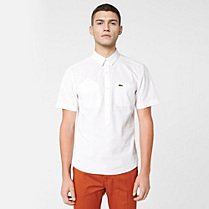 Lacoste Live plain skinny fit shirt Men