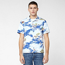 Lacoste Live printed skinny fit shirt Men