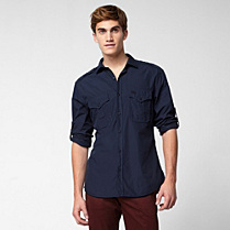 Lacoste Slim fit shirt with pockets Men