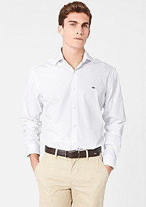 Lacoste Chemise tailored fit à carreaux Homme