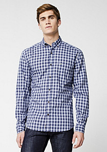 Lacoste Slim fit checked shirt Men