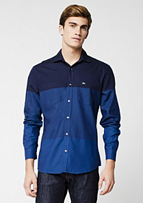 Lacoste Slim fit multicolour shirt Men
