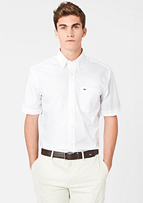 Lacoste Plain Regular fit shirt Men
