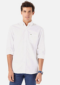 Lacoste Regular fit Hemd uni Herren