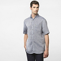 Lacoste Regular fit linen shirt Men
