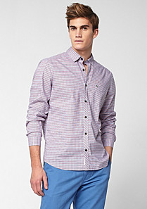 Lacoste Slim fit check shirt Men