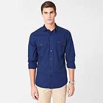 Lacoste Plain Slim fit shirt Men
