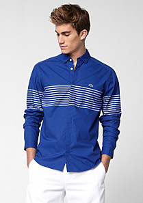 Lacoste Slim fit striped shirt Men