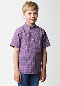 Lacoste Check shirt Boy