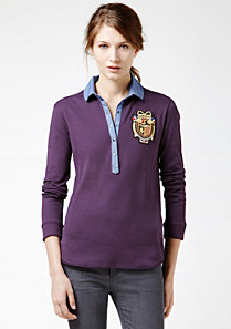 Lacoste Classic polo with badge Women