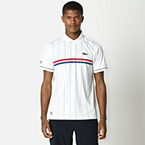 Lacoste Andy Roddick Sport striped polo Men