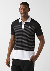 Andy Roddick Lacoste Sport striped polo Men