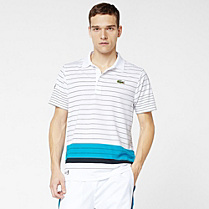 Andy Roddick Sport striped Lacoste polo Men
