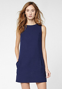 Lacoste Plain dress with pockets Women