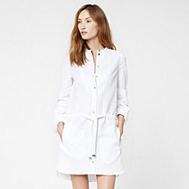 Lacoste Belted shirt dress Women