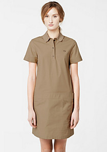 Lacoste 80th Anniversary Edition polo dress with pockets Women