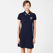 Lacoste 80th Anniversary Edition polo dress Women