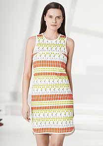 Lacoste Fashion Show patterned dress Women