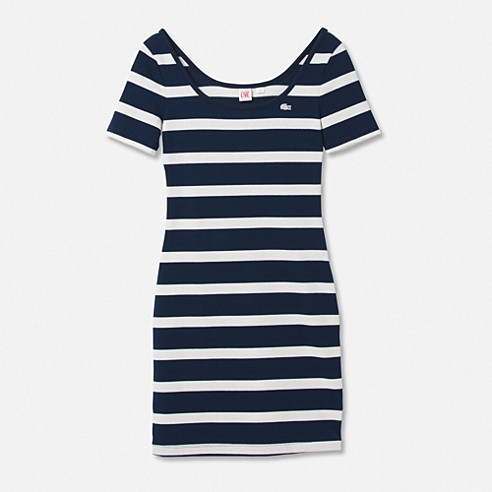 Lacoste Live body hugging dress