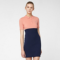 Lacoste Live stretch polo dress Women