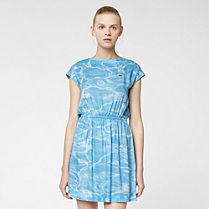 Lacoste Live fluid printed dress Women