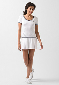 Lacoste Tennis dress with piping Women