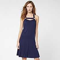 Lacoste Fluid strap dress Women
