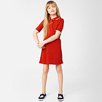 Lacoste Dress with elbow-length sleeves gender.gir