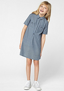 Lacoste Polka dot dress with elbow-length sleeves gender.gir