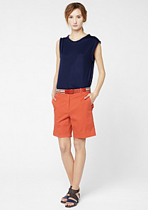 Lacoste Stretch chino Bermudas Women
