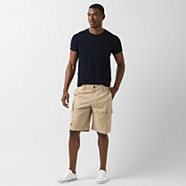 Lacoste Bermudas with side pockets Men