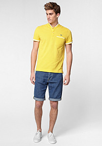 Lacoste Bermudas in cotton and linen Men