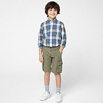 Lacoste Bermudas with side pockets Boy
