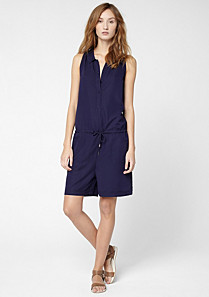 Lacoste Fluid playsuit with drawstring waist Women