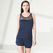 Lacoste Fashion Show knit shorts Women