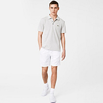 Lacoste Plain Sport shorts with tone-on-tone crocodile Men