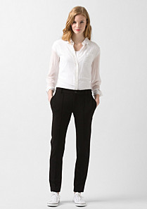 Lacoste Stretch cigarette trousers Women
